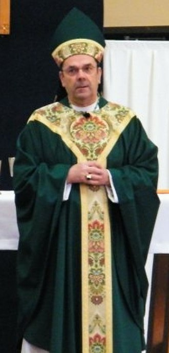 Robert Joseph Cunningham - Bishop Robert Cunningham celebrates Mass on Parents Weekend at the Alibrandi Catholic Center, Newman Center for Syracuse University