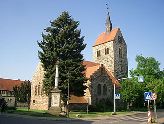 Bismark, Germany - Parish church