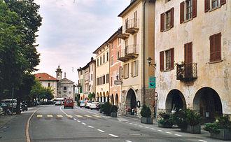 Bissone - Bissone village