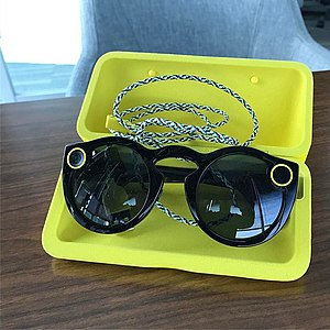 3fe412d6b465 Black Spectacles in carrying case.jpg