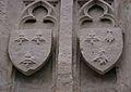 Blasons de Jacques de Thianges et de Jehanne Turlin sur la Croix des Thianges.JPG