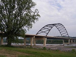 Blennerhassett Island Bridge - Image: Blennerhassett Bridge 033