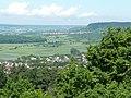 Blick vom Schloß Hohenentringen Richtung Herrenberg - panoramio.jpg
