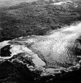Blockade Glacier, terminus of valley glacier, August 25, 1963 (GLACIERS 6420).jpg