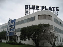 Blue Plate Mayonnaise factory