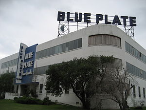 Gert Town, New Orleans - Blue Plate Mayonnaise factory