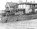 Boarding houses at 416 Cherry St, Seattle, Washington, December 4, 1909 (LEE 135).jpeg
