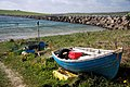 Boat on Glimps Holm shore - geograph.org.uk - 1340154.jpg