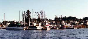 Gig Harbor, Washington - Boats in Gig Harbor