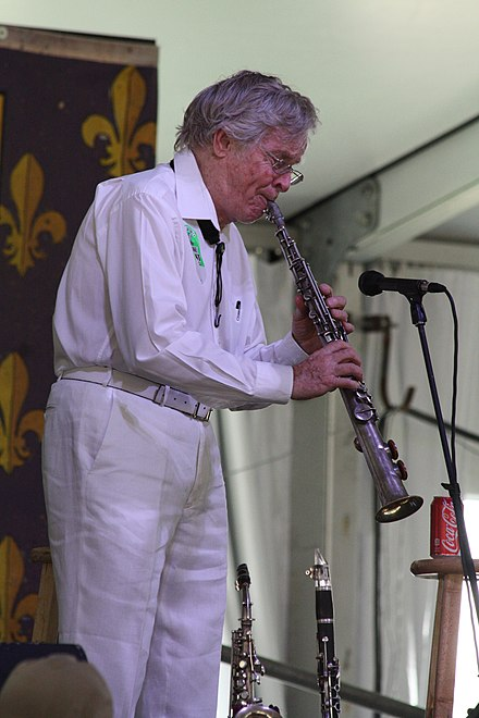 Bob Wilber at New Orleans Jazz & Heritage Festival 2014 Bob Wilbur at New Orleans Jazz Fest 2014.jpg