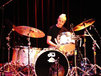 English: Bobby Previte live at Saalfelden 2009...