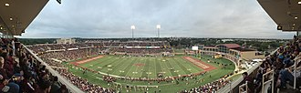 Bobcat Stadium (Texas State) - Texas State Bobcats vs Navy Midshipmen - Sept 13,2014