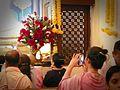 Bodhgaya 16 inside Mahabodhi Temple (32377886323).jpg