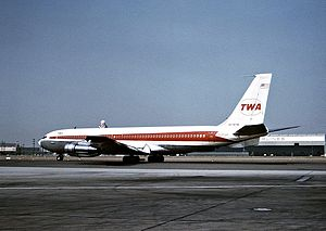 TWA Flight 840 hijacking - Image: Boeing 707 331B, Trans World Airlines (TWA) JP6421175