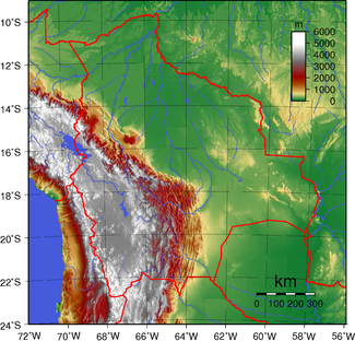 Bolivias topografi