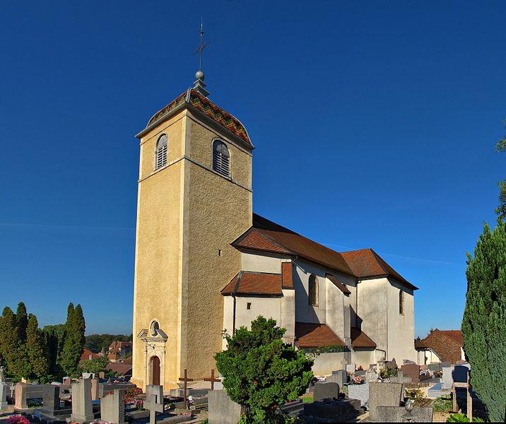 Église Saint-Lazare de Bonnay (Classé)