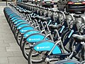 Boris Bikes, Victoria Embankment, London, UK - panoramio.jpg