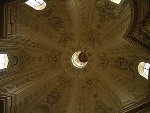 Sant'Ivo alla Sapienza - Interior view.