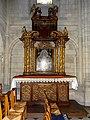 Bougival (78), église Notre-Dame, croisillon nord, autel et retable du XVIIe siècle.jpg