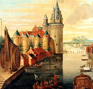 Kortrijk - The second castle of Kortrijk