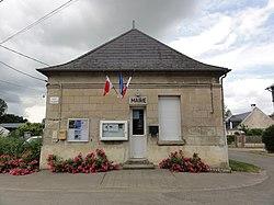 Bourguignon-sous-Coucy (Aisne) mairie.JPG