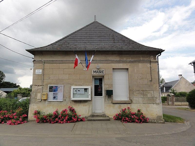 Bourguignon-sous-Coucy (Aisne) mairie