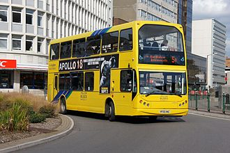 Yellow Buses - East Lancs Myllennium Vyking bodied Volvo B7TL in August 2011