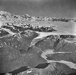Brady Glacier and Dixon River, icefield and valley glacier, September 12, 1973 (GLACIERS 5764).jpg