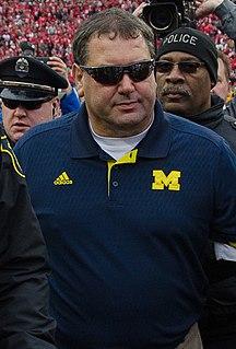 Brady Hoke American football coach