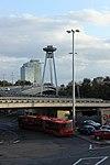 Bratislava, most SNP, severní předpolí.jpg