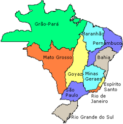 Localização de Brasil