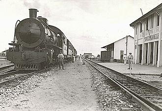 Congo–Ocean Railway - Brazzaville station, 1932