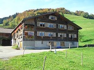 Bregenz Forest - Image: Bregenzerwaldhaus