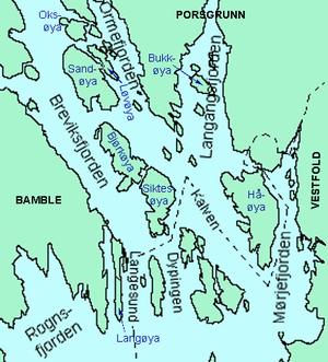 kart over håøya Håøya (Porsgrunn) – Wikipedia kart over håøya