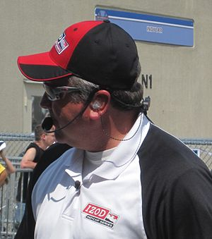 Brian Barnhart - Barnhart at the Indianapolis Motor Speedway in 2010.