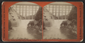 Bridge and First Fall of Genesee, Portage, N.Y, by Walker, L. E., 1826-1916.png