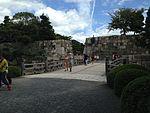 File:Bridge in front of west gate of Hommaru of Nijo Castle.JPG