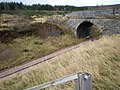 Bridge on Old A9 Tomatin to Slochd Summit Crossing Railway - geograph.org.uk - 1051487.jpg