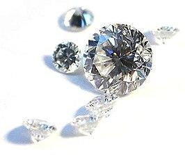 Tot briljant geslepen diamanten