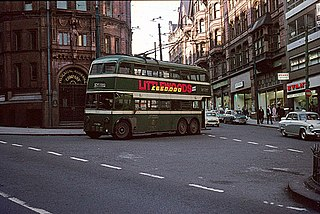 Trolleybuses in Nottingham