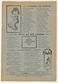 Broadsheet featuring three love ballads, a woman reading, a woman's face framed by a heart, and a woman walking MET DP868531.jpg