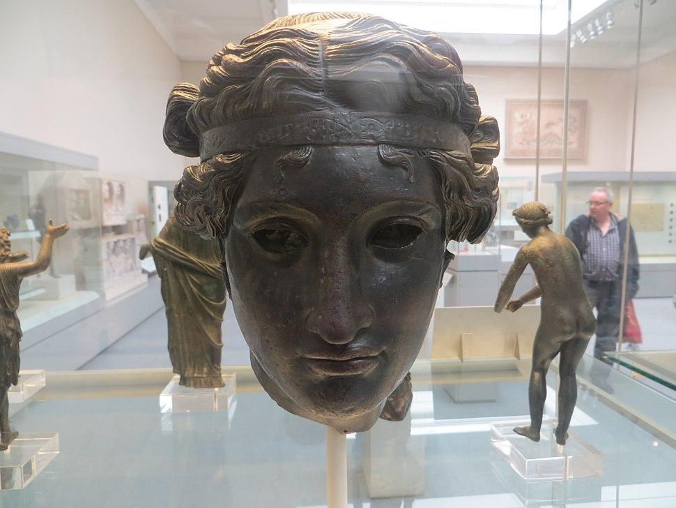 Bronze Head of Dionysos