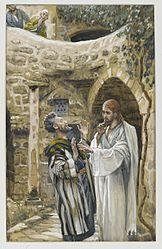James Tissot: Jesus Heals a Mute Possessed Man
