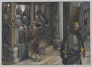 Judas Goes to Find the Jews