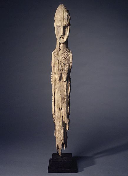 File:Brooklyn Museum 1998.124.1 Grave Marker in the Form of a Female Figure.jpg