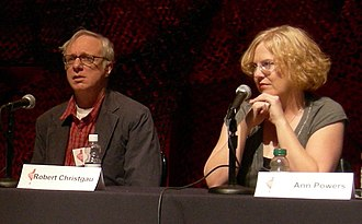 Spin Alternative Record Guide - Music critics Robert Christgau (left) and Ann Powers (right) contributed to the book.