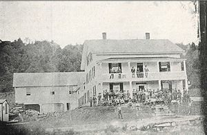 Brown Company -  Berlin Mills Company boarding house, c. 1870
