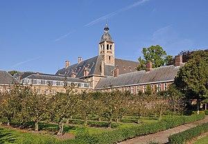 Bruges seminary - Seminary garden