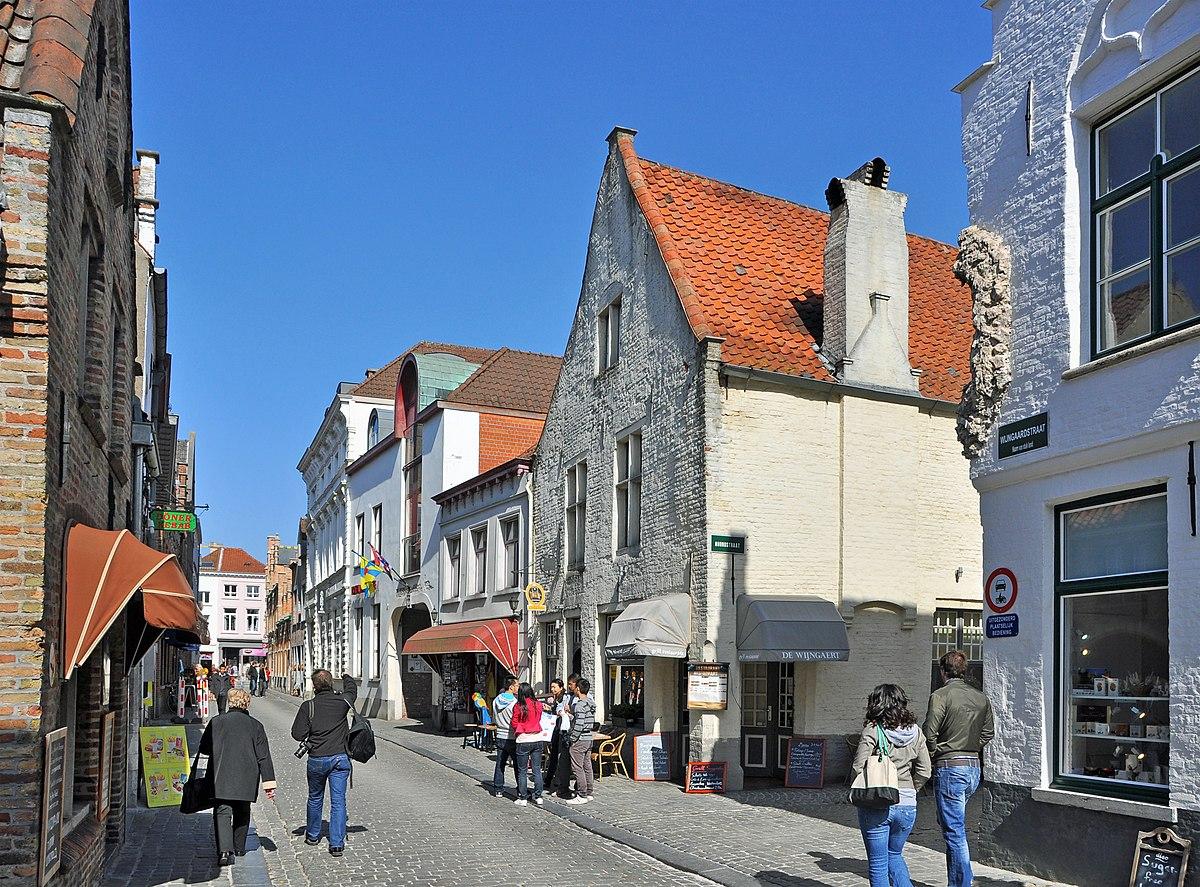 Wijngaardstraat (Brugge) - Wikipedia