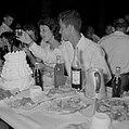 Bruiloft in de kibboets Yad Mordechai bij Asjkelon in het zuidwesten van Israel., Bestanddeelnr 255-4202.jpg